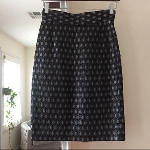 Prada skirt, black and grey, size 40 Italian